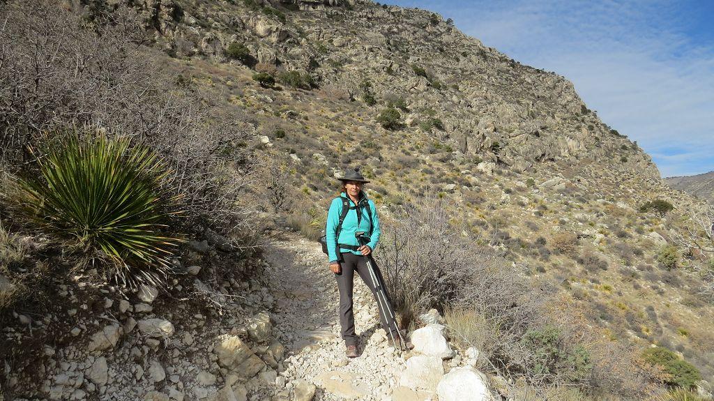 Wanderung zum Peak