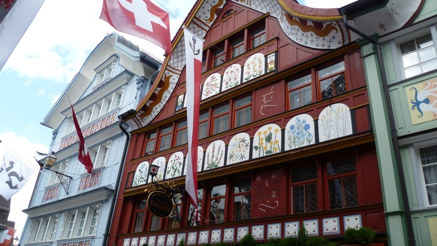 Volksfest in Appenzell