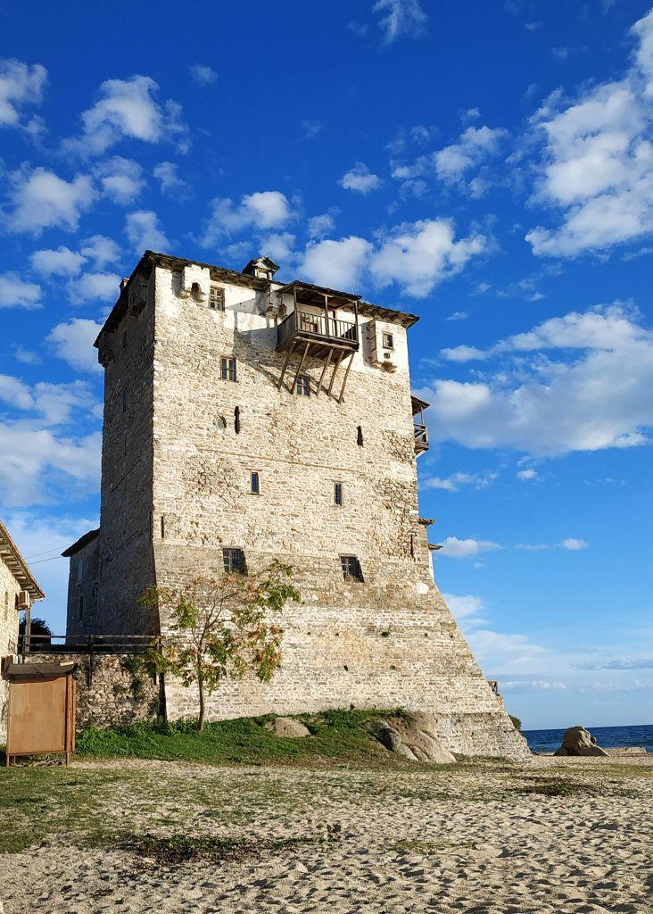 Wehrturm in Ouranopoli