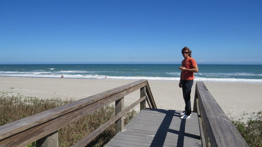 Am Strand von Melbourne Beach