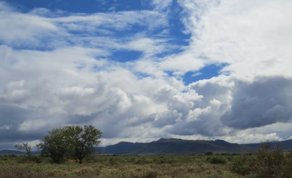 Die Wolken reißen auf...