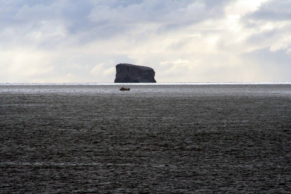 Blick zur Insel Eldey
