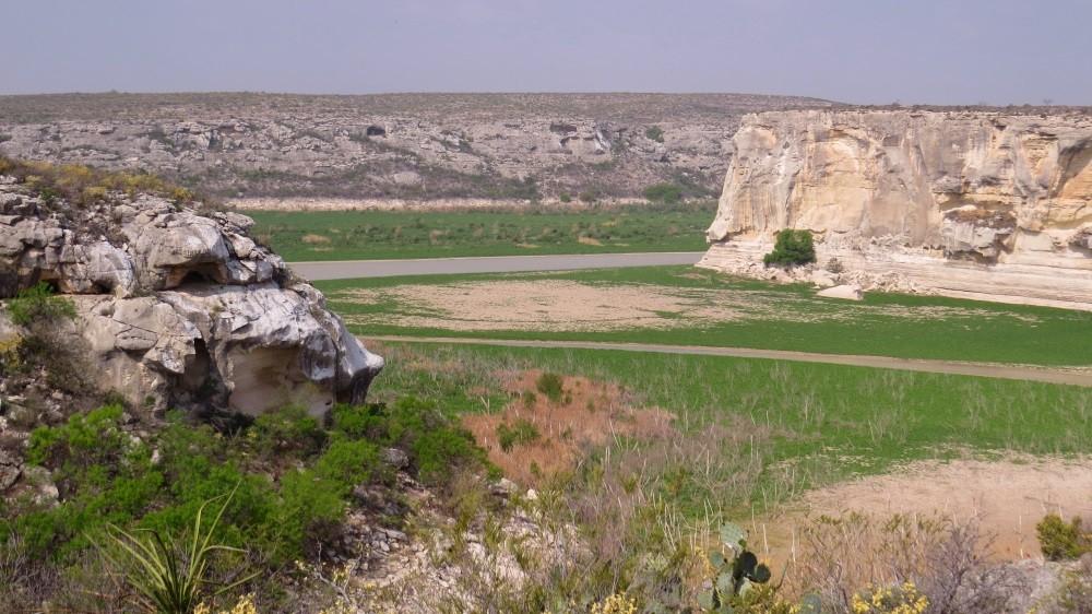 Blick zum Rio Grande
