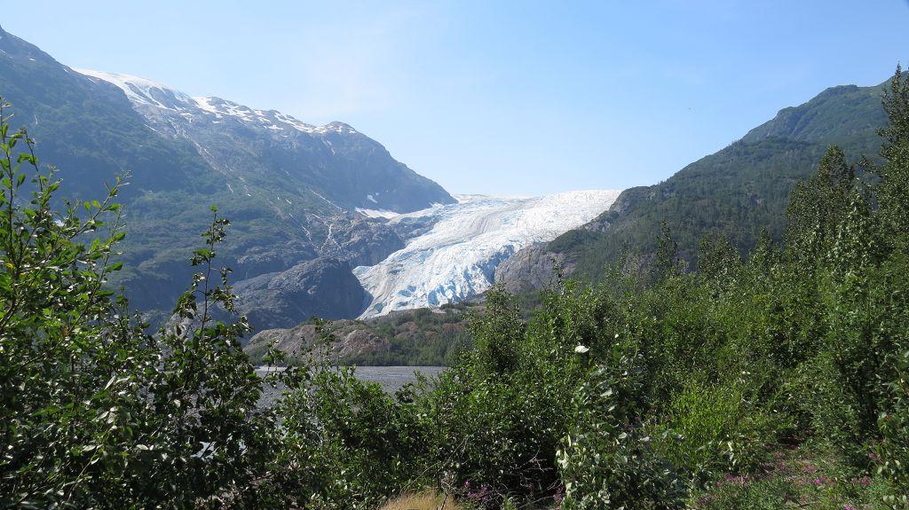 Blick zur Gletscherzunge