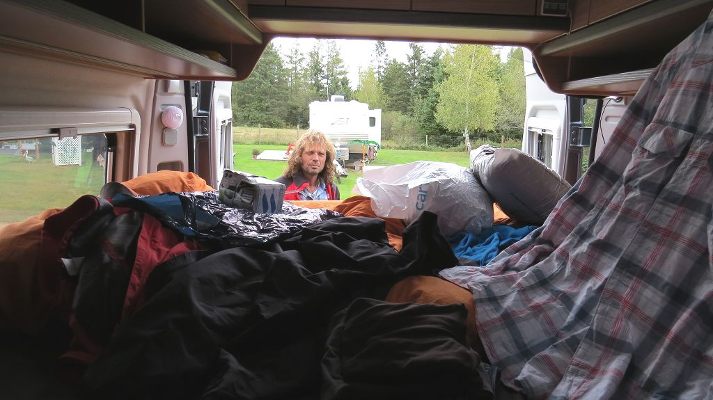 """Letzter Tag auf dem """"Wild Nature Campground"""". Aufräumen..."""