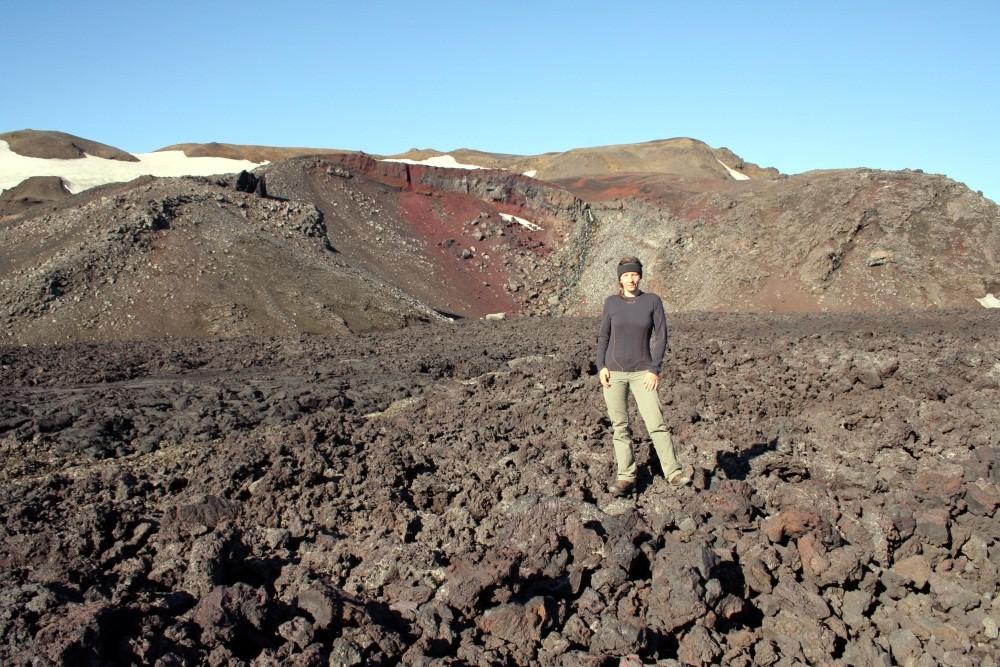 Hier stehe ich auf Lava aus dem Jahre 1961