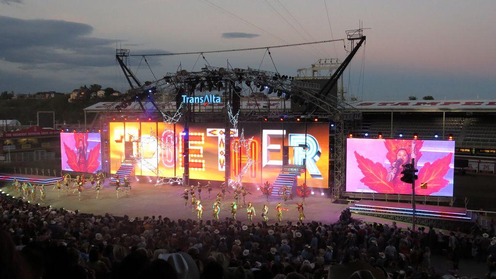 Grandioser Abschluß, die Trans-Alta-Show