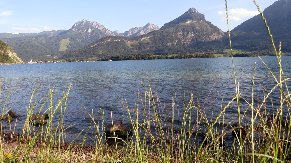 Blick von unserem Camping auf den See