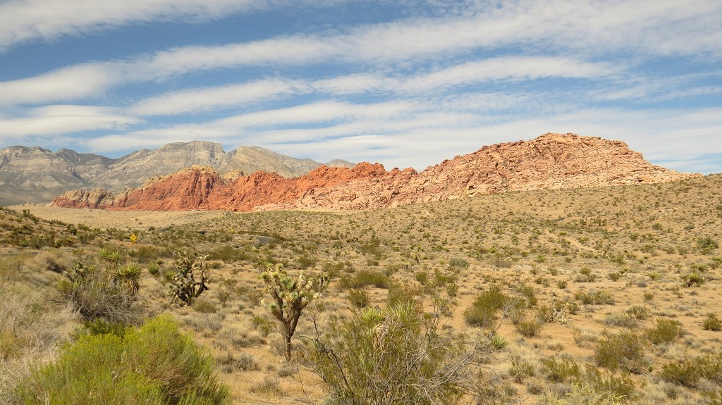 Red Rock Canyon bei Las Vagas
