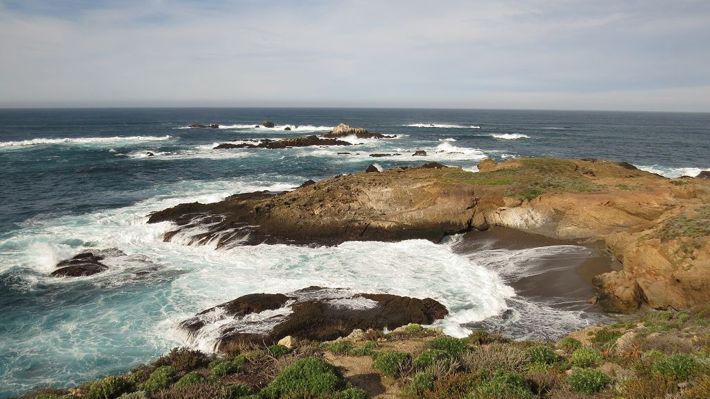 Point Lobos, die Felsen der Seelöwen