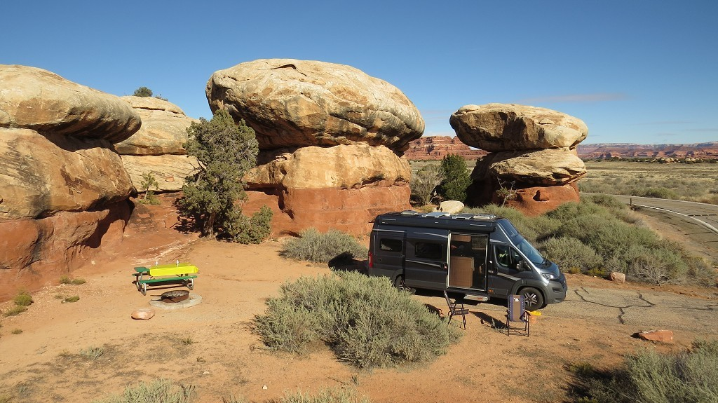 Camping in den Needles