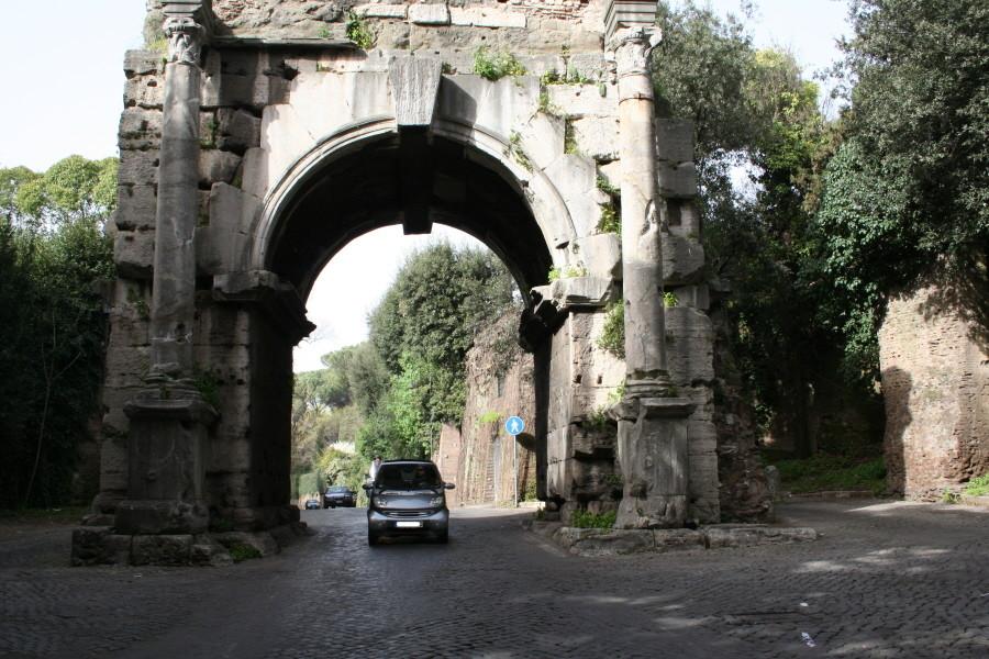 Unterwegs auf der Via Appia Antica