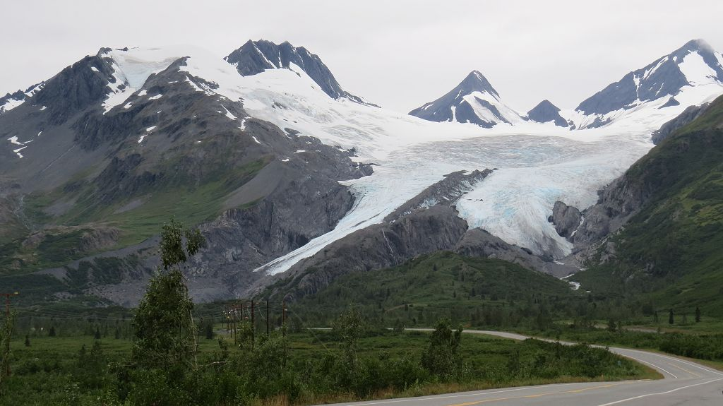 ...zum Worthington-Glacier...
