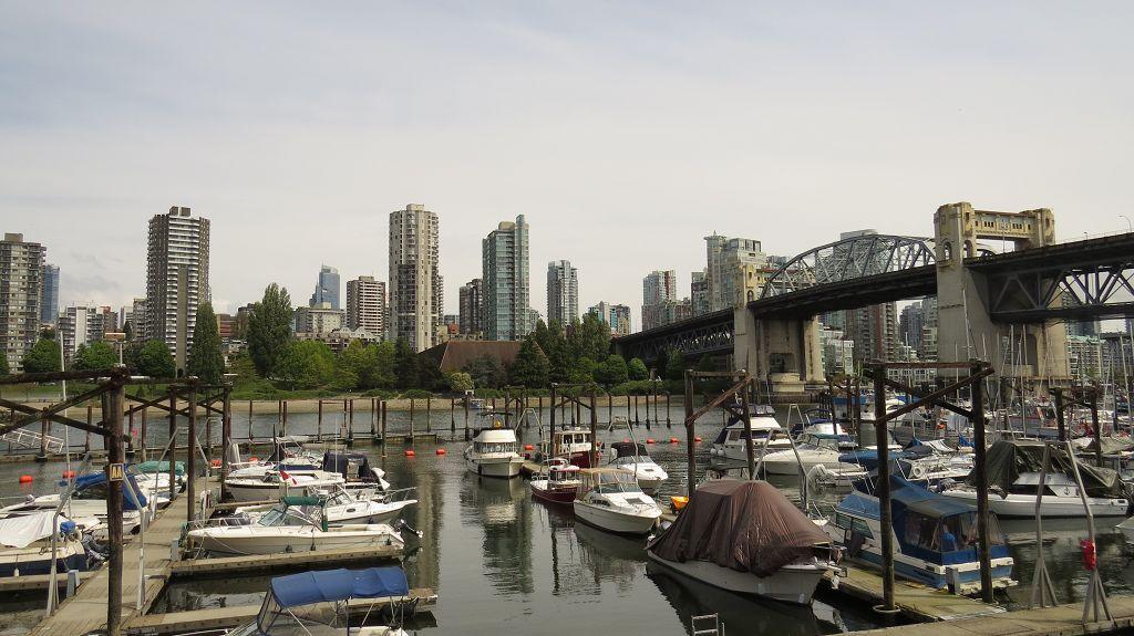 ...erster Blick auf Vancouver