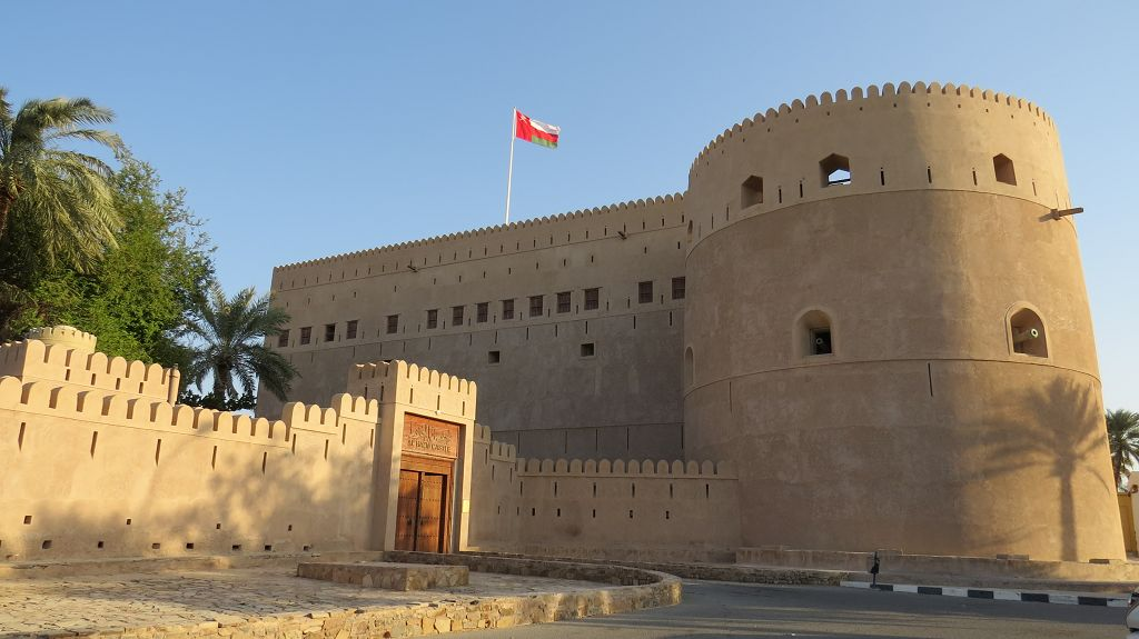 Festung in Al Hazm