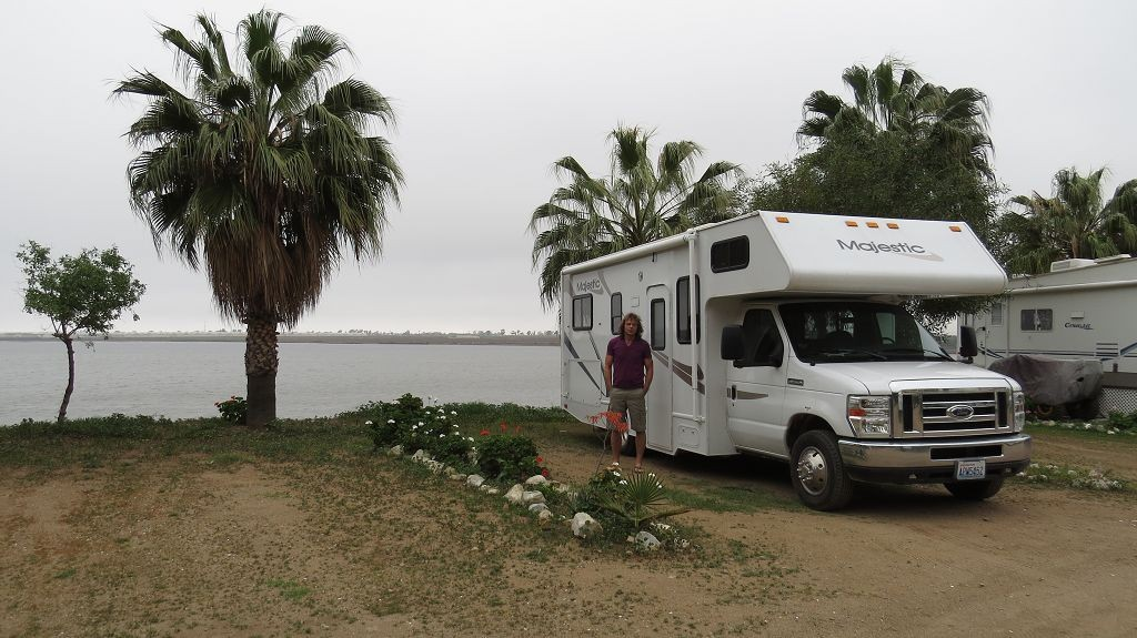 erster Camping in Mexiko