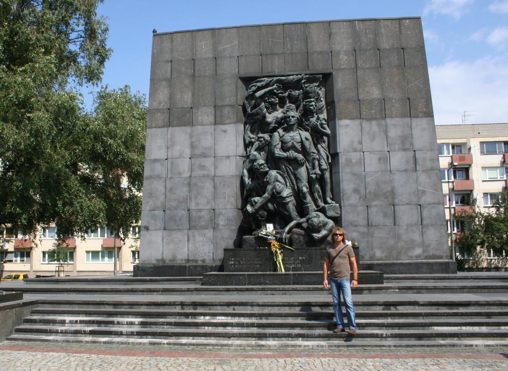 Denkmal der Helden des Gettos