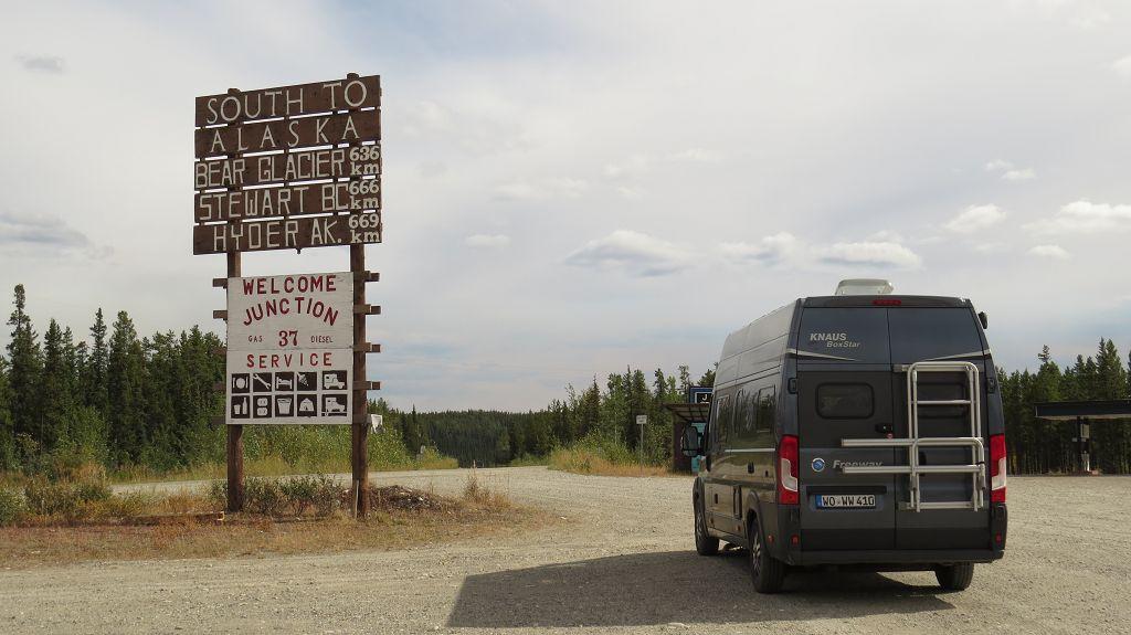 Stewart-Highway nach Hyder