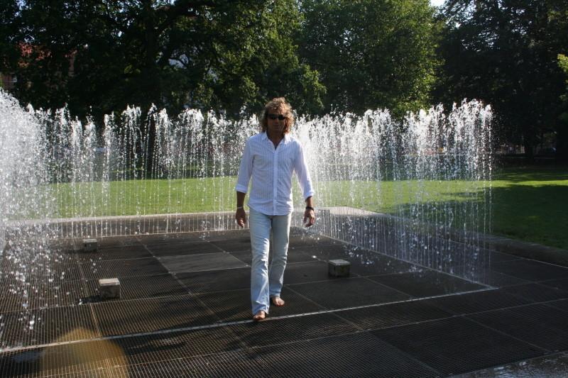 ..nochmal der Springbrunnen
