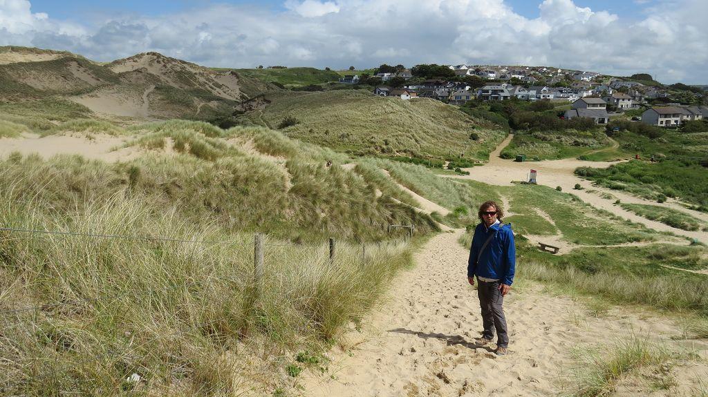 Holywell Dunes und Beach
