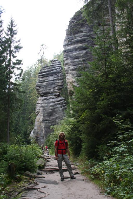 Wir wandern im Wekelsdorfer Felsenland