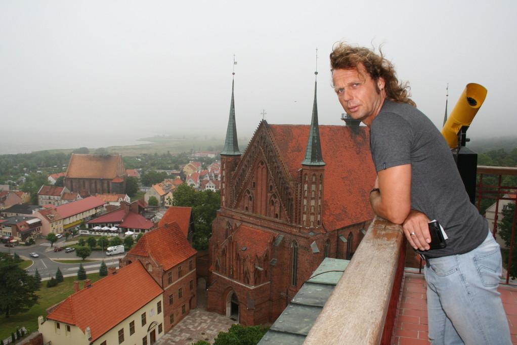 Blick zur Kathedrale in Frombork