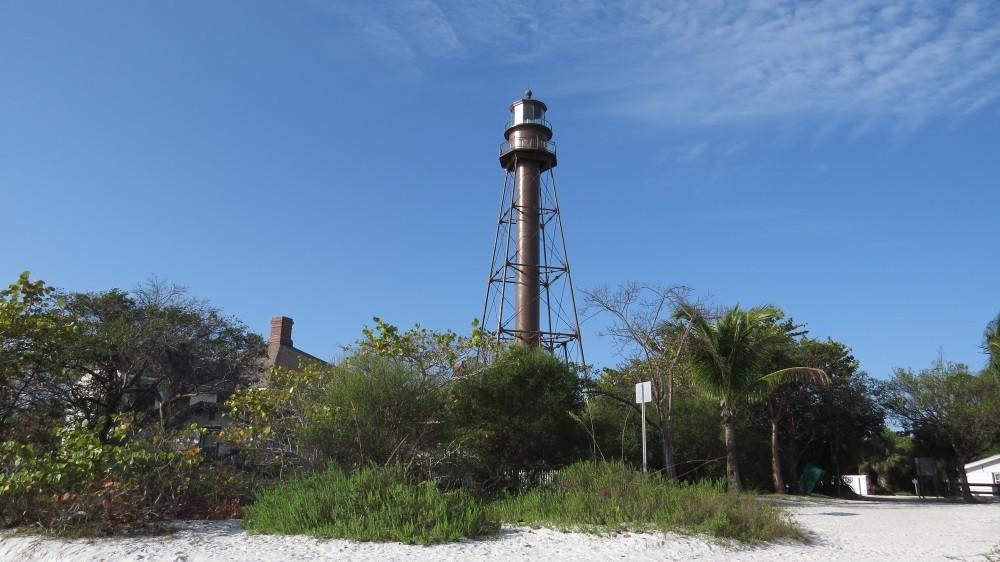 Wir laufen zum Lighthouse und