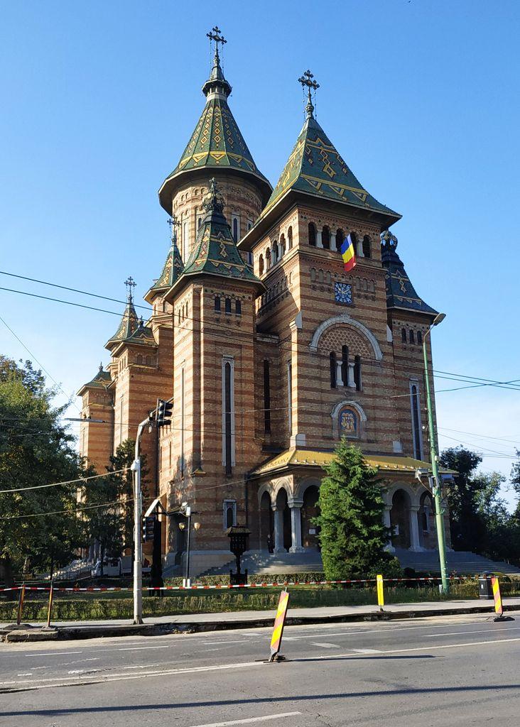 Wir laufen durch Timisoara