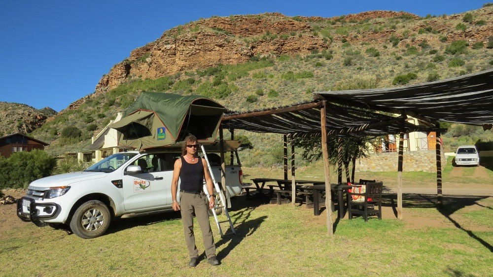 Camping im Bushman-Valley