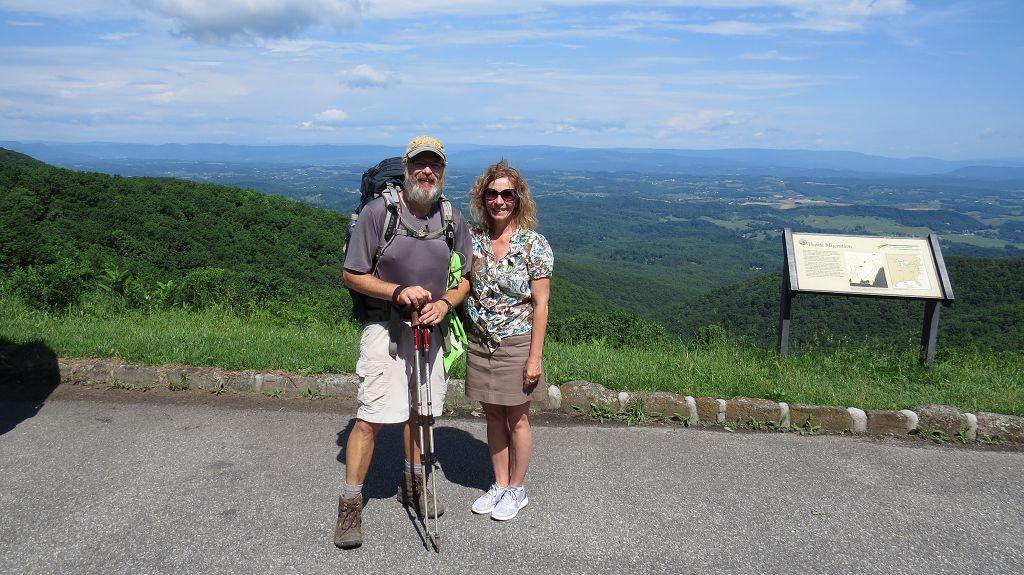 Wanderer auf dem Appalachian-Trail