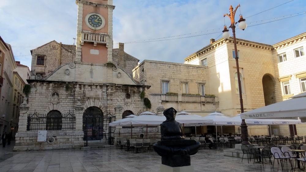 Spaziergang durch Zadar