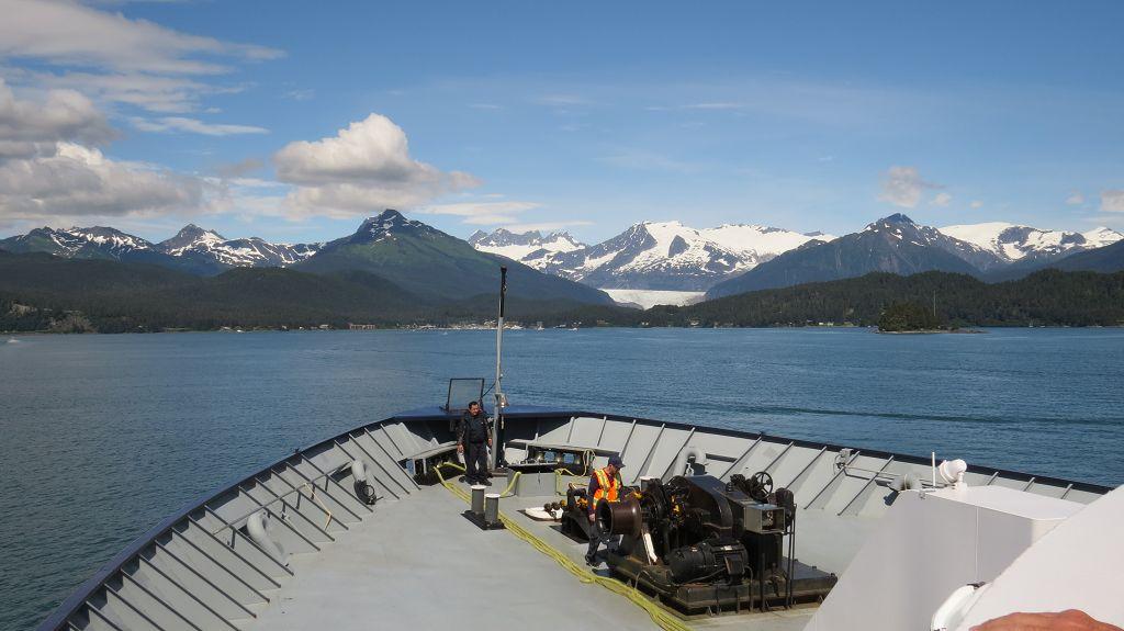 Wir verlassen Juneau