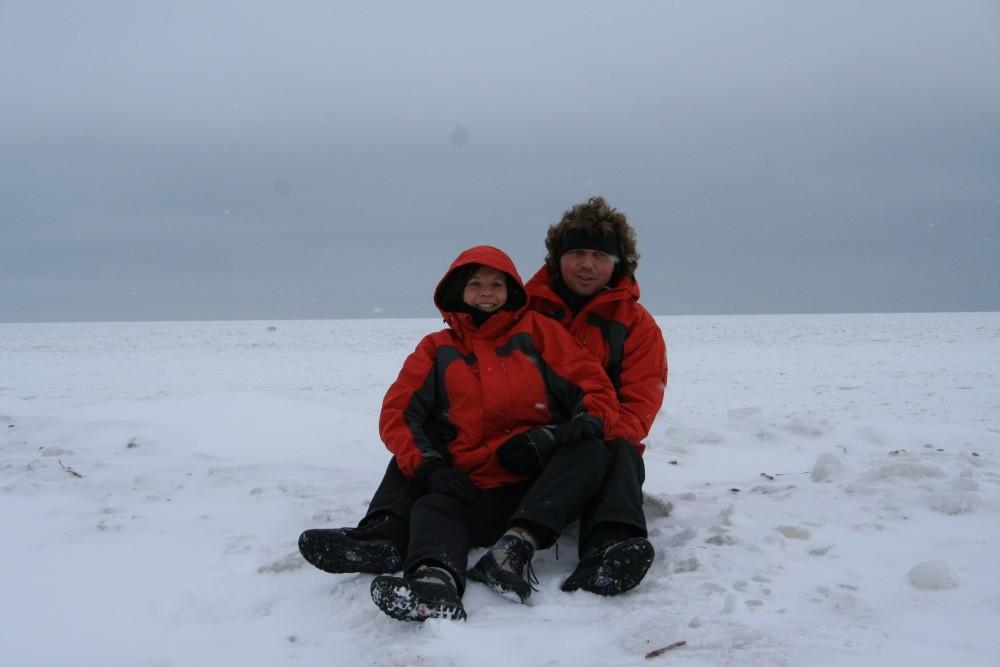 ...das Eis trägt und die Bären können auf Robbenjagd gehen.