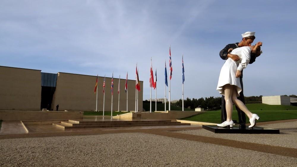 Memorial in Caen