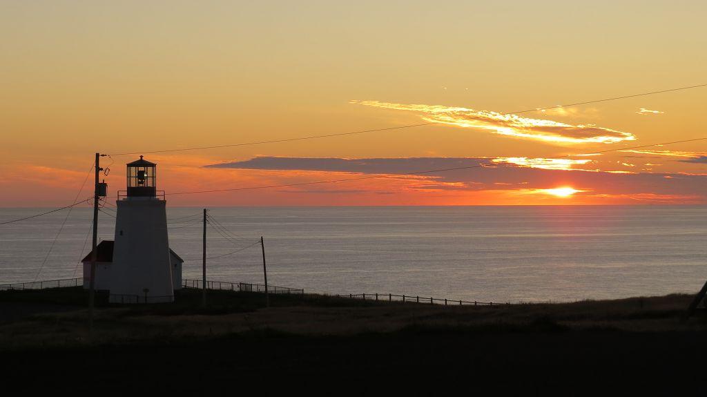 Sonnenuntergang am Cape Mary