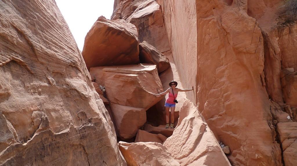 Klettern auf dem Prospect Trail