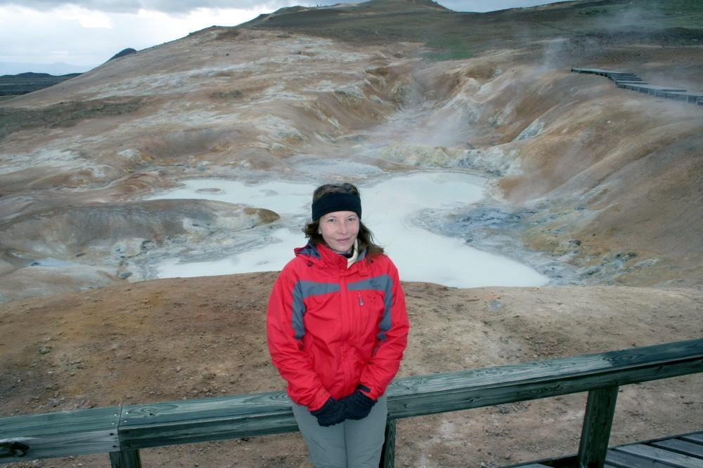 Um den Zentralvulkan Krafla