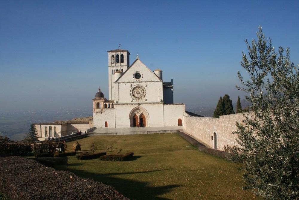 Am nächsten Tag an der Basilica di S. Francesco
