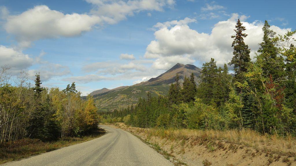 Richtung Alaska.Highway geht es weiter...
