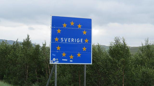 ...dann geht's zurück nach Schweden.