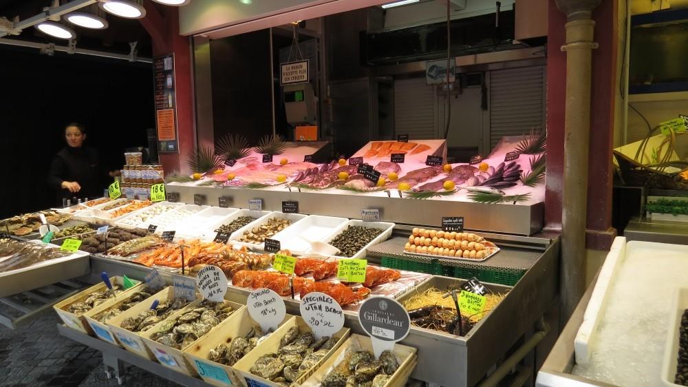 Fischmarkt in Trouville-sur-Mer
