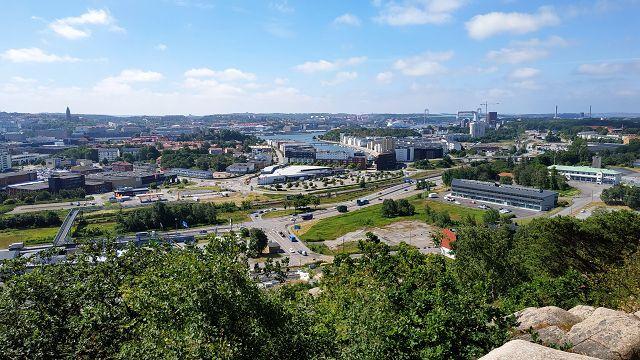 Blick auf Göteborg