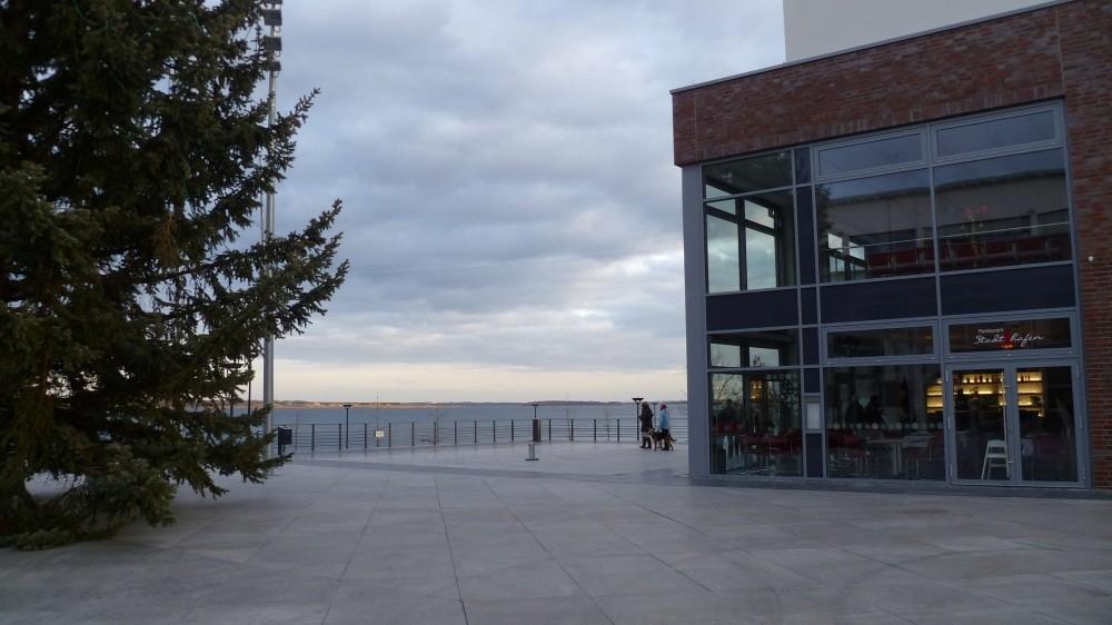 Wasserfront in Bitterfeld