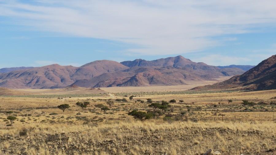 Fahrt durch den Namib Naukluft Park