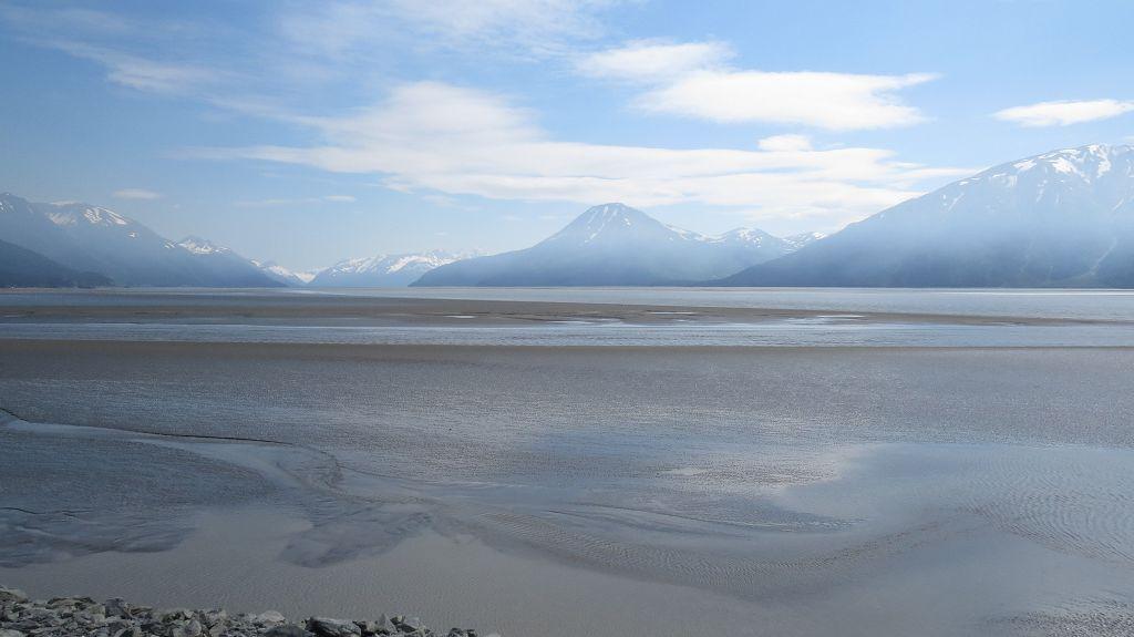 Wieder am Turnagain Arm kurz vor Anchorage