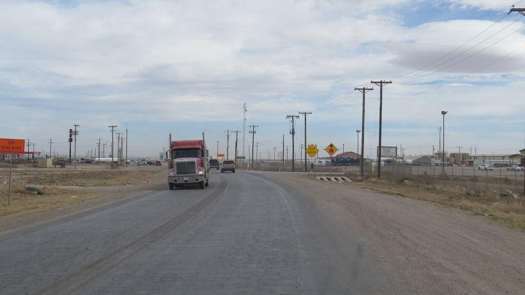 Fahrt durch den Süden von Texas