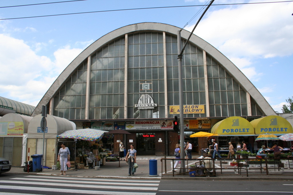 Markthalle in Gdingen
