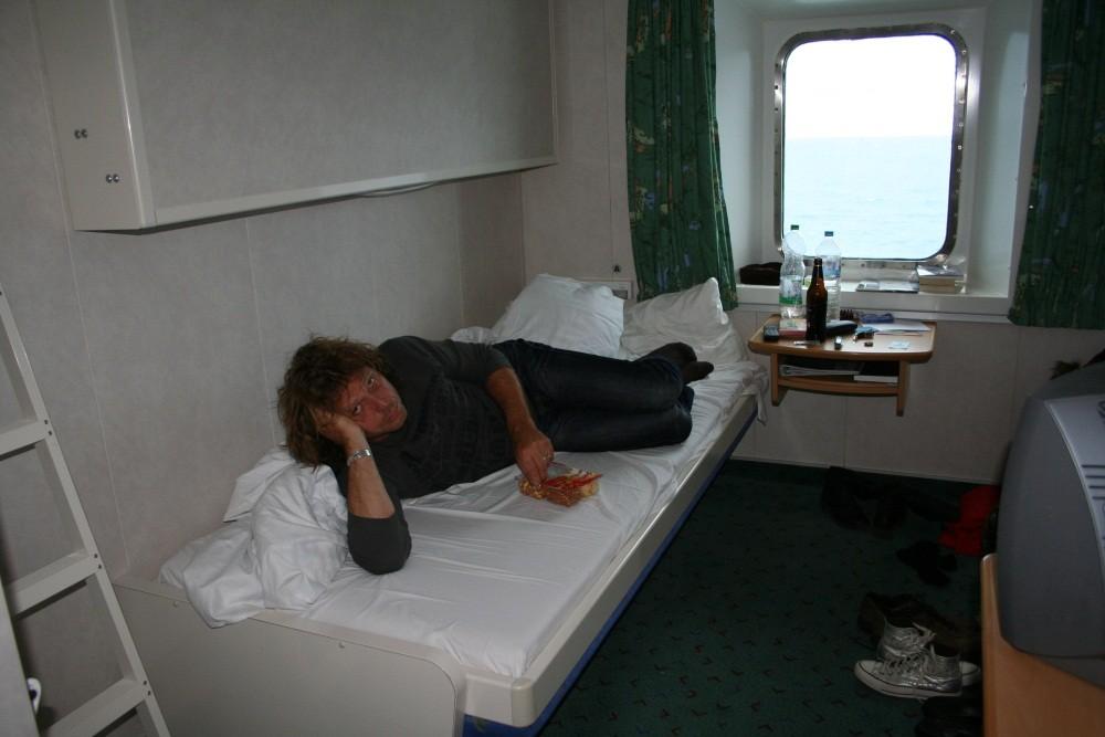 Langeweile an Bord