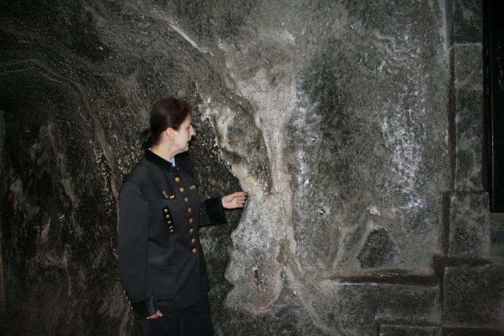 Im Salzbergwerk WieWieliczka