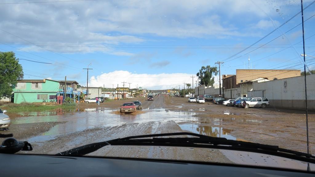 Es regnet in Vicente Guerrero